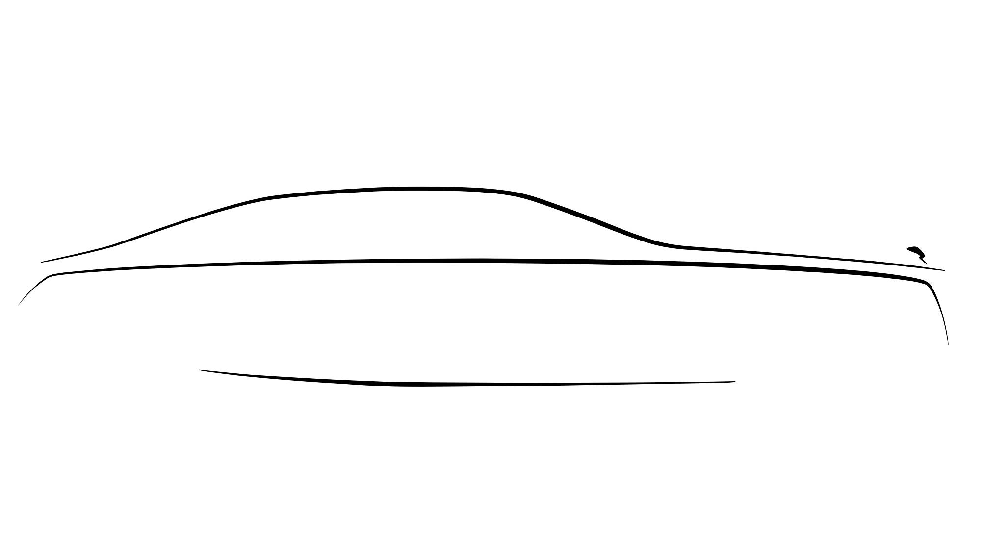 Тизер нового Rolls-Royce Ghost: