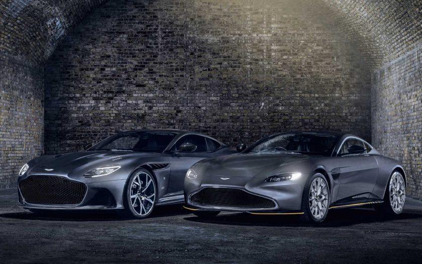 Aston Martin Vantage 007 Edition и DBS Superleggera 007 Edition
