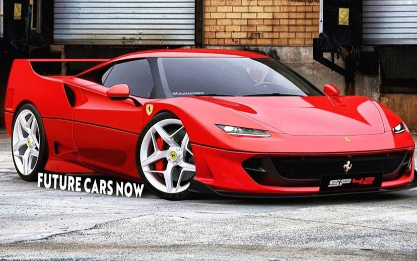 Рендеры Ferrari SP42 на базе F40