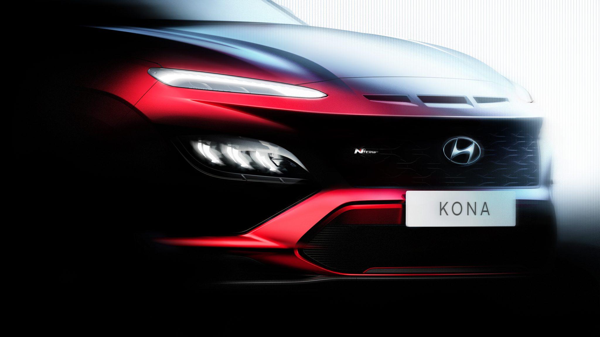 Hyundai Kona тизер