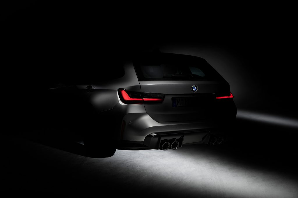BMW M3 Touring рендер
