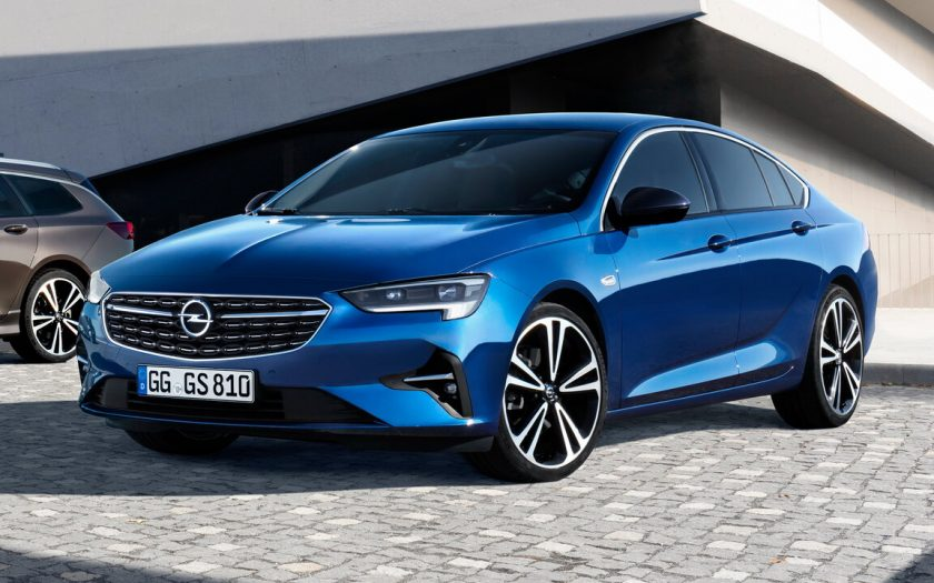 Opel Insignia II рестайлинг