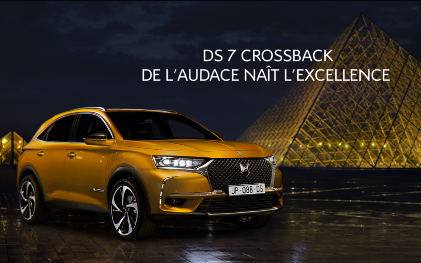 DS 7 CROSSBACK Louvre