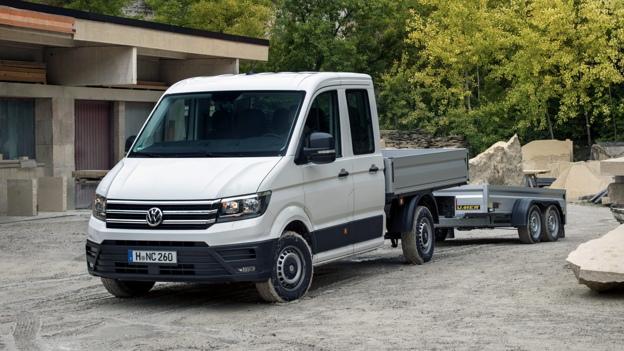 Volkswagen Crafter Double Cab Pickup