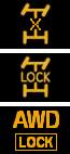 Индикатор блокировки дифференциала
