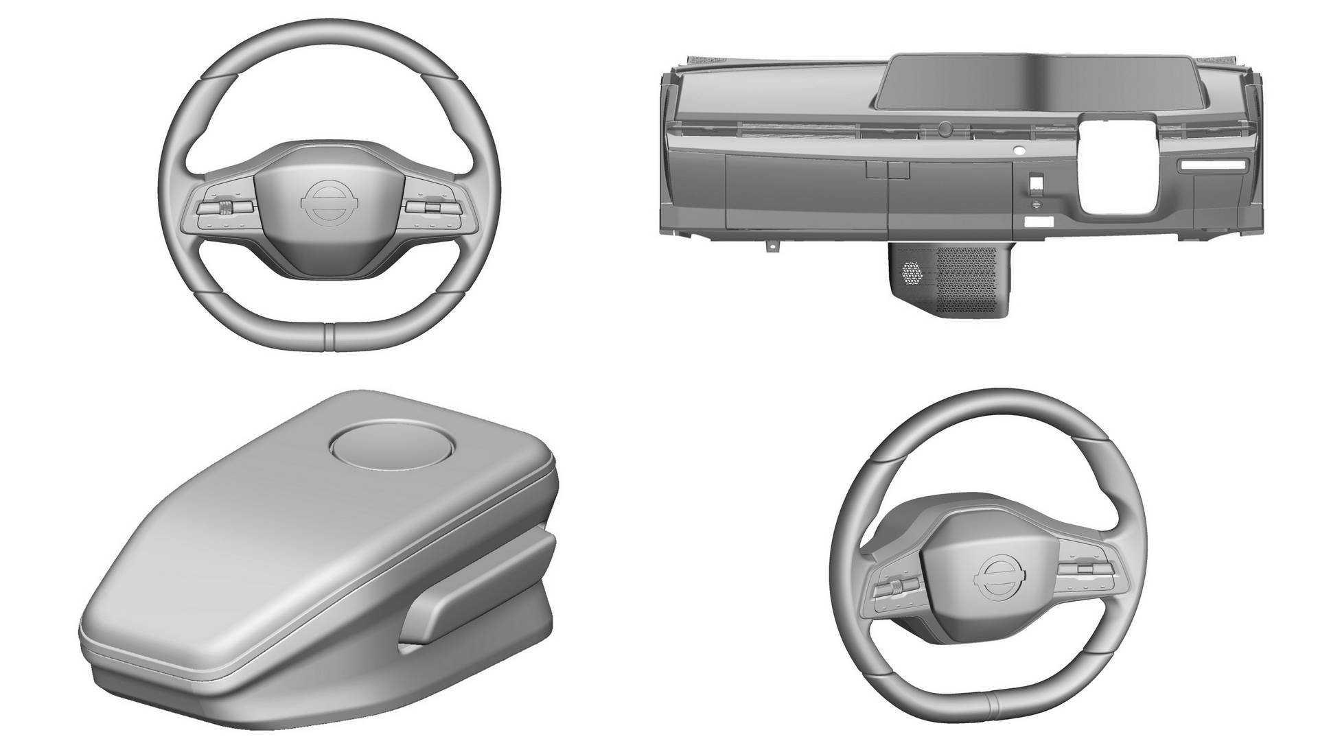 Элементы интерьера Nissan Ariya