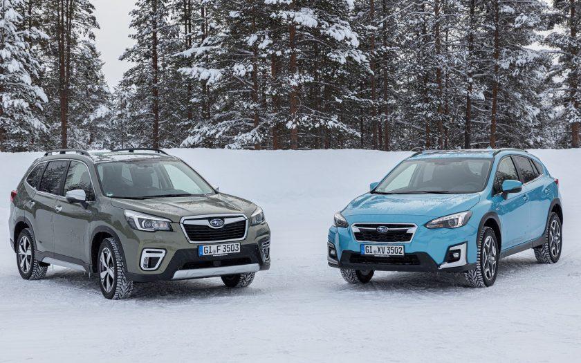 Subaru XV и Subaru Forester