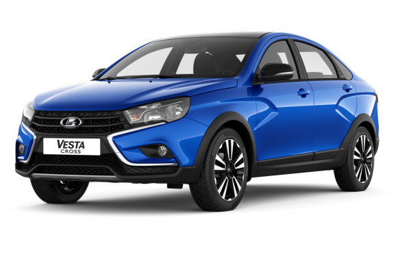 Lada Vesta Cross Black