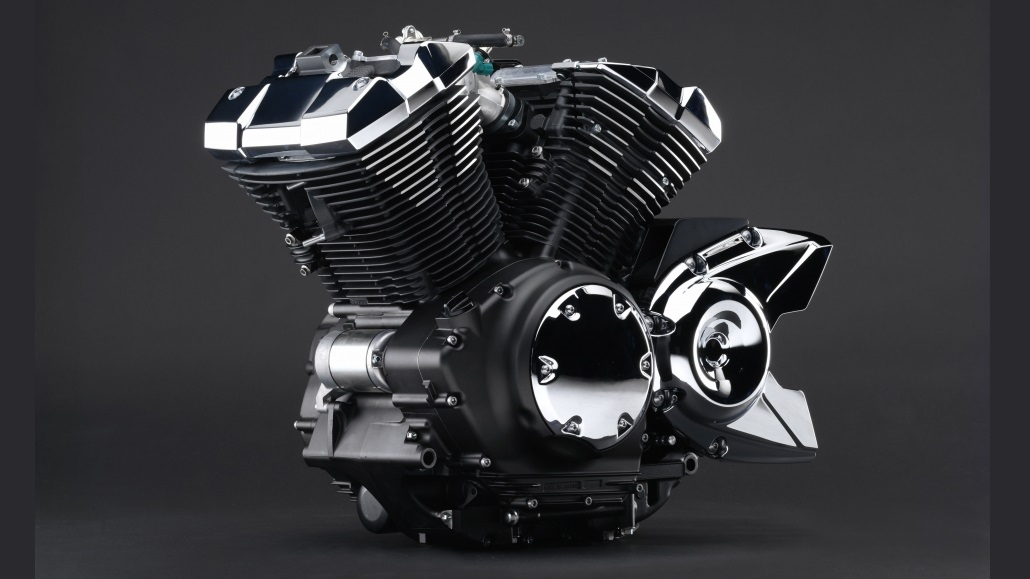 Двигатель Yamaha XVS950A