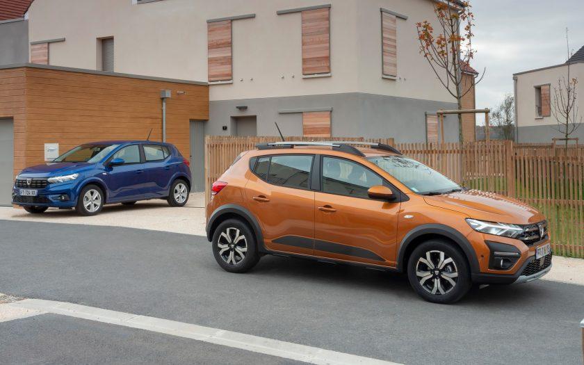 Dacia SANDERO and New Dacia Sandero Stepway