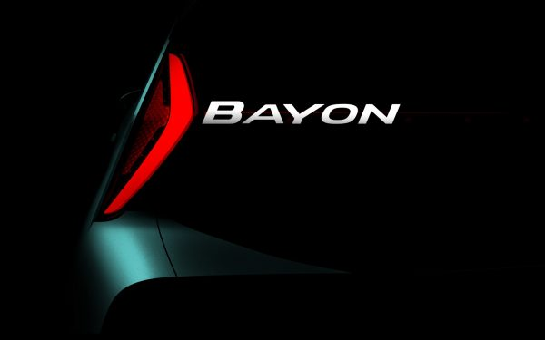 Hyundai Bayon тизер