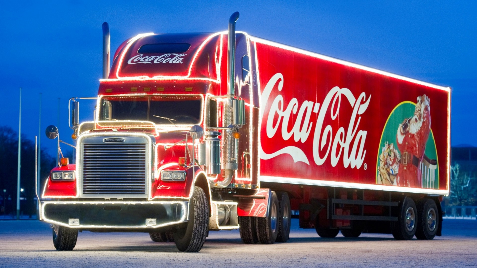 Freightliner Classic (Coca-Cola Christmas Truck)