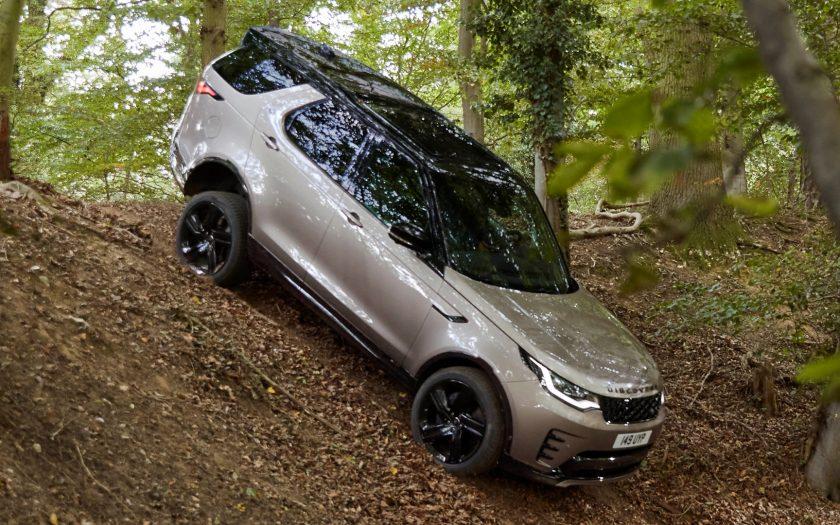 Land Rover Discovery 5 поколения рестайлинг