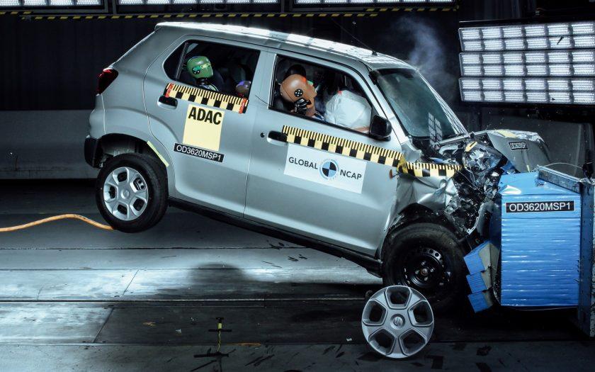 Maruti Suzuki S-Presso краш-тест