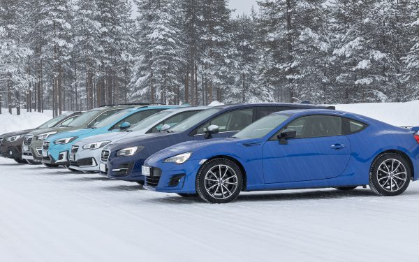 Модельный ряд Subaru