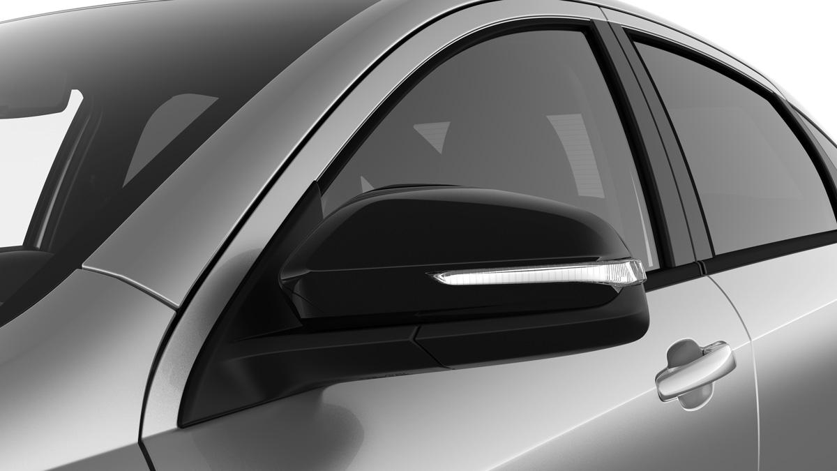 Черные зеркала в Lada Vesta