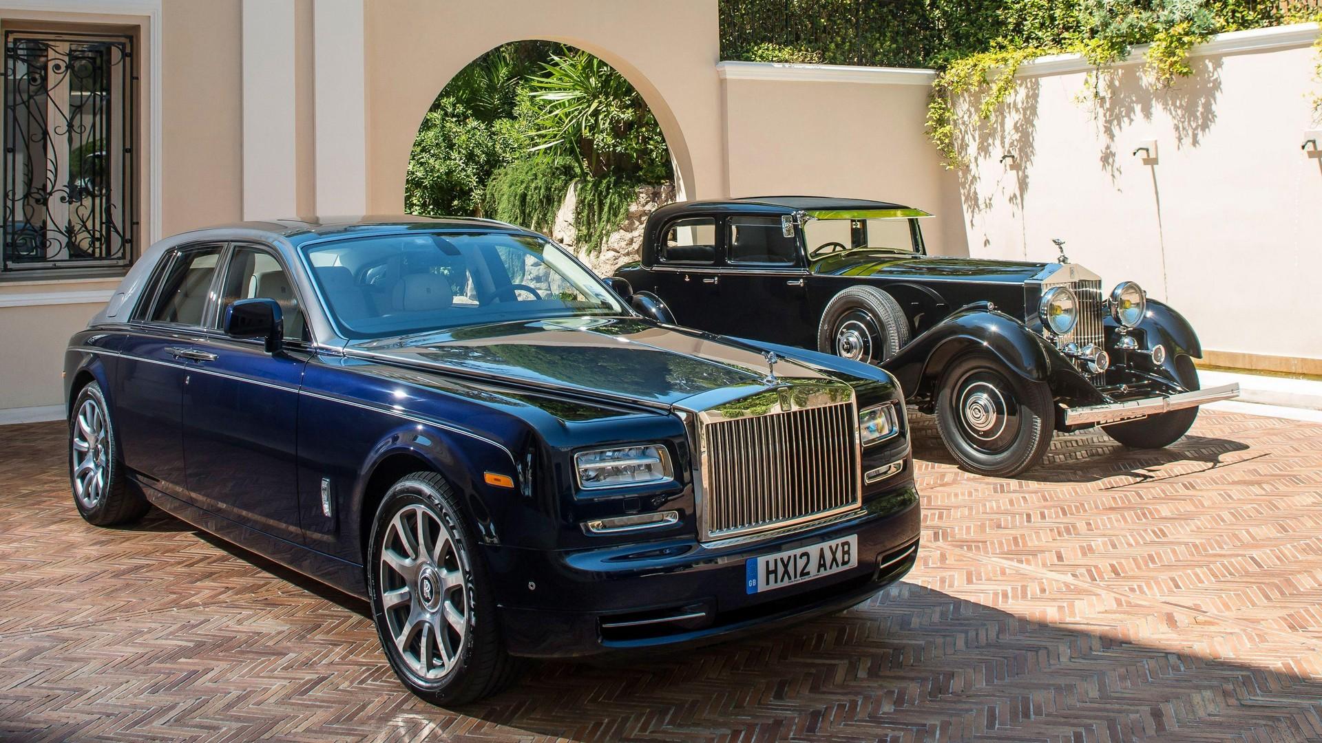 Rolls-Royce Phantom I и Rolls-Royce Phantom VII (Series II)