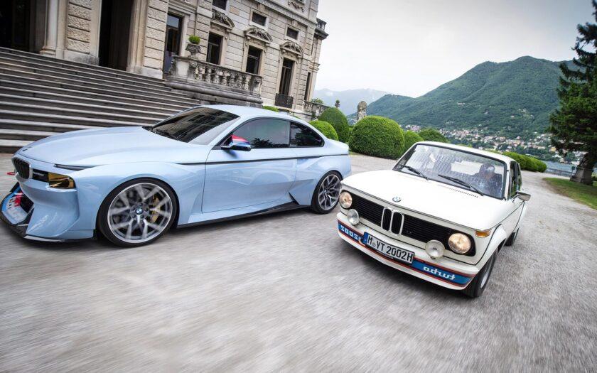 BMW 2002 Hommage Concept и BMW 2002 Turbo