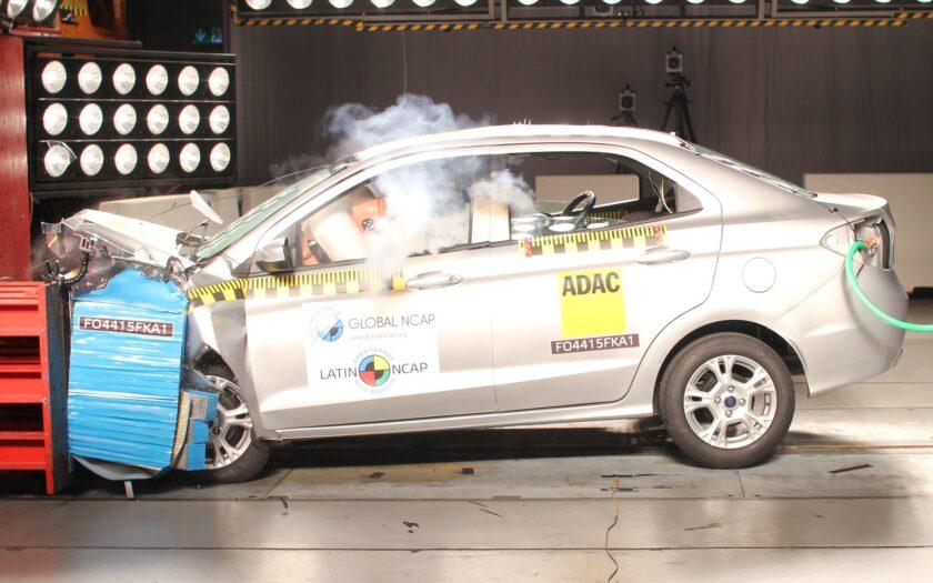 Ford Ka краш-тест