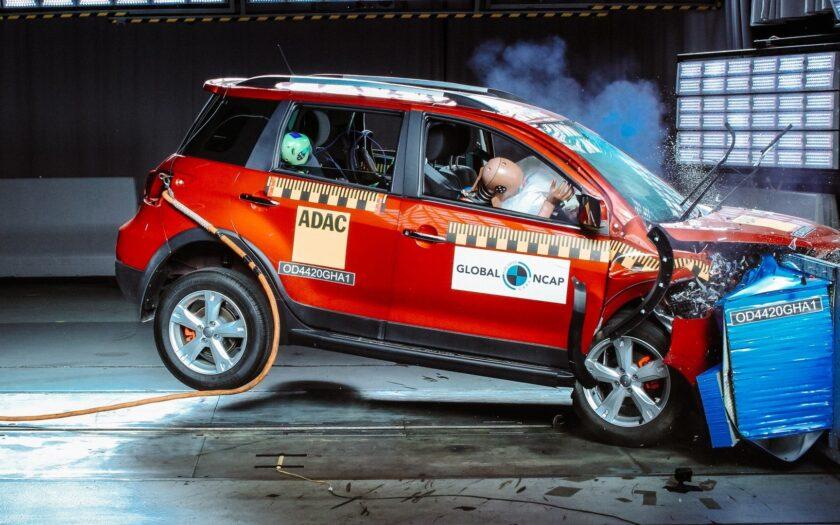 Haval H1 краш-тест -Global NCAP