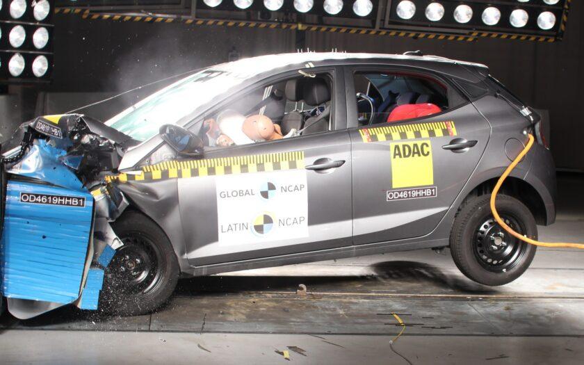 Краш-тест Hyundai HB20