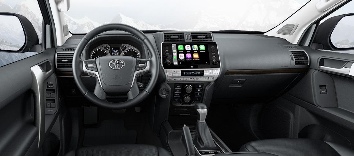 Toyota Land Cruiser Prado 5 поколения рестайлинг