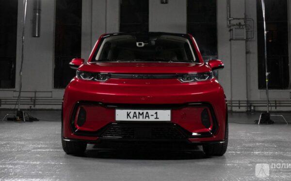 Электромобиль Кама-1