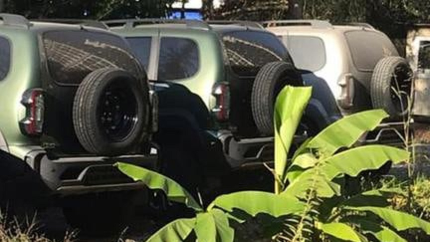 Lada Niva Facelift