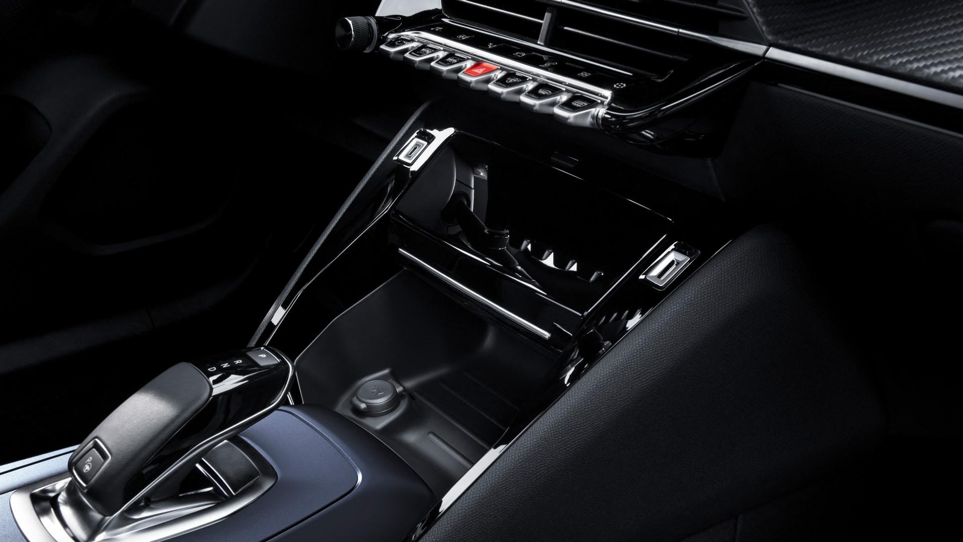Центральная консоль Peugeot 2008 GT Line