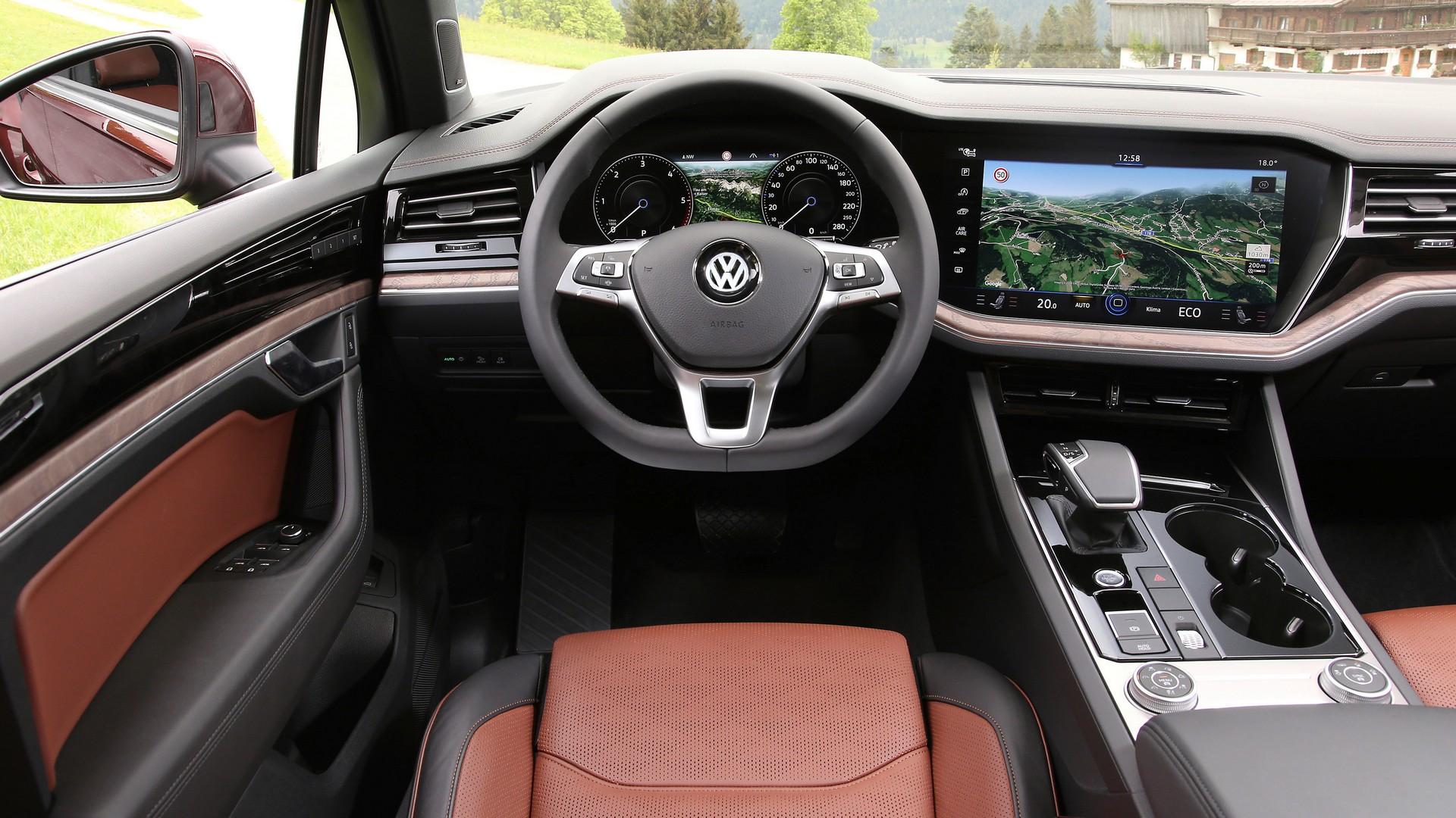 Салон Volkswagen Touareg V6