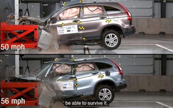Honda CR-V 2010 краш-тест