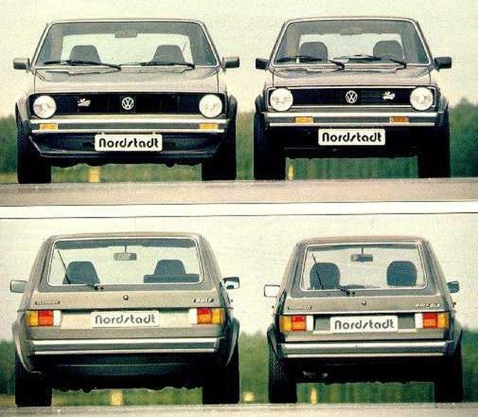 Volkswagen Golf 928 Artz и Golf Mk1
