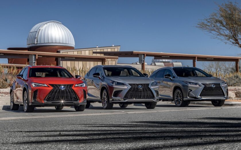 lexus NX, Lexus RX, Lexus UX