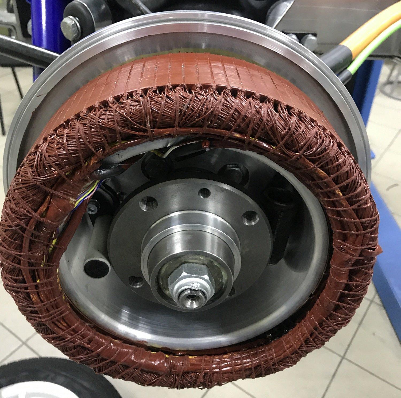 Обмотка мотор-колеса Zetta