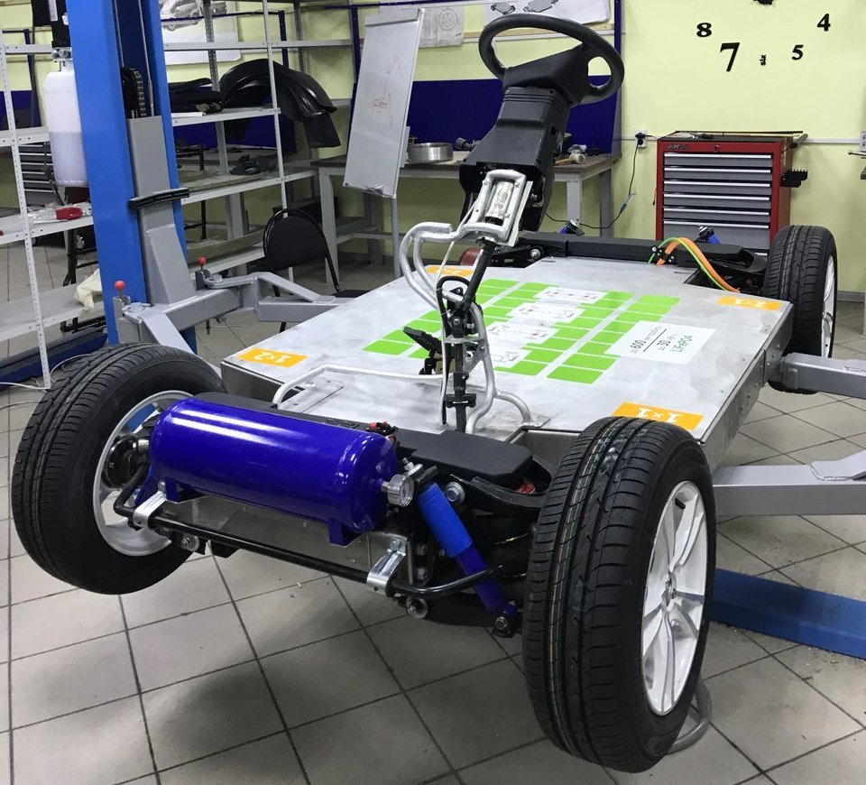 Платформа электромобиля Zetta