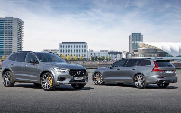 Volvo XC90 и V60
