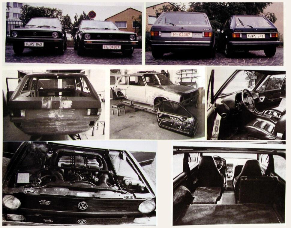 VW Golf 928 Artz