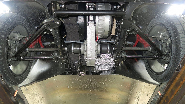 Передняя подвеска с электромотором и редуктором