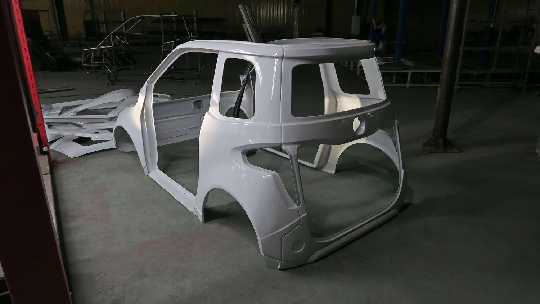 Пластиковый кузов Zetta City Modul 1