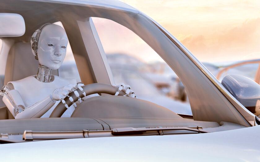 Робот за рулем