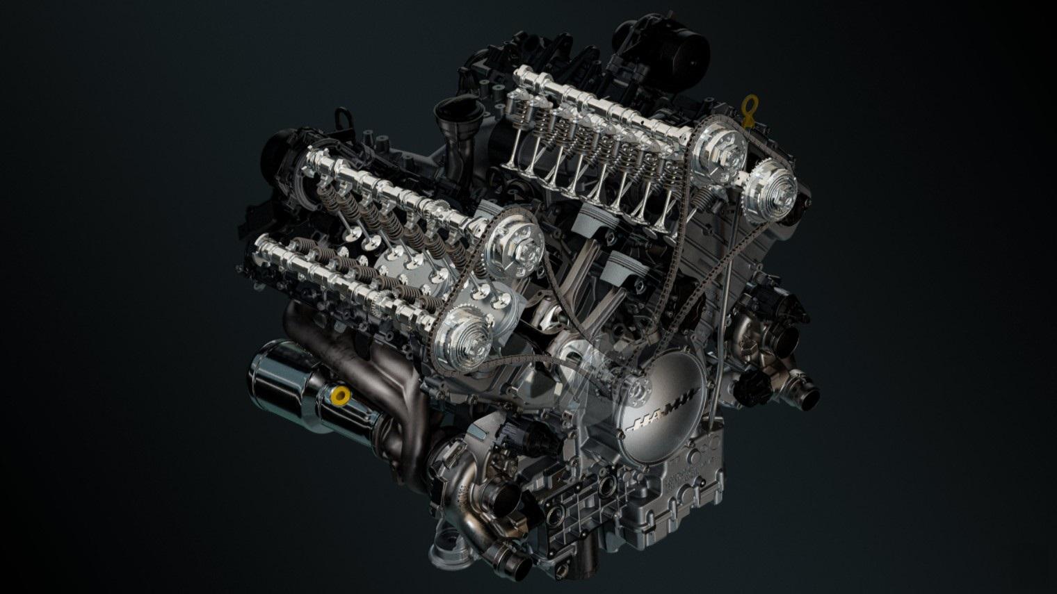 V8 двигатель Aurus