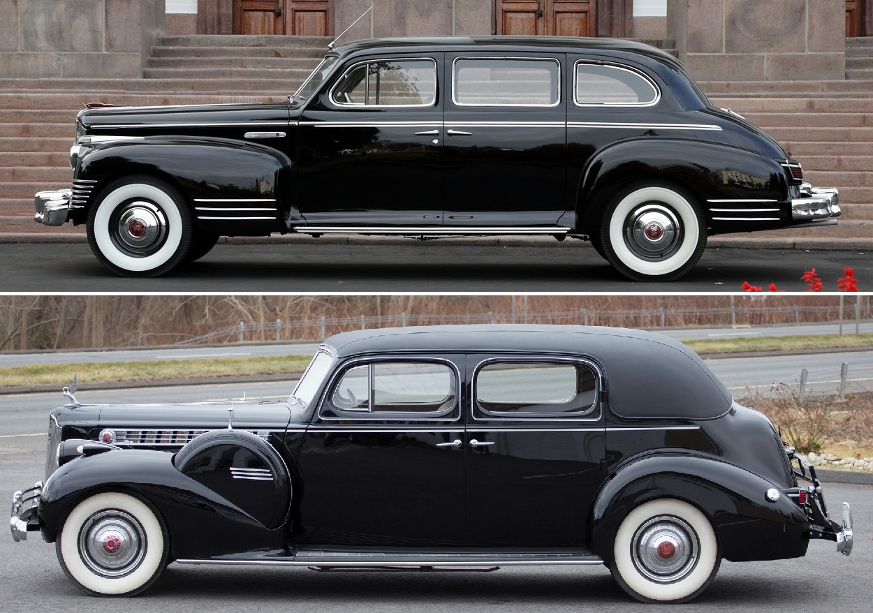 ЗИС-110 и Packard 180