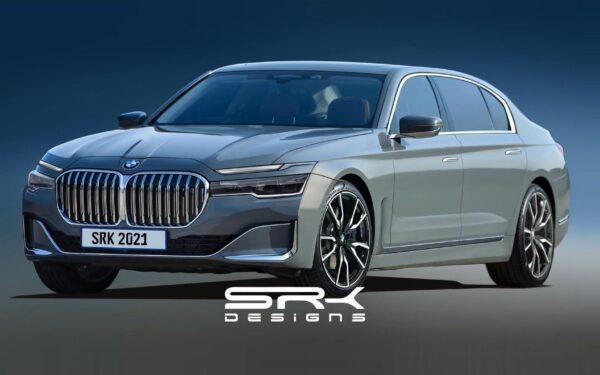 Рендер BMW 7 Series седьмого поколения