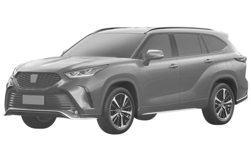Toyota Highlander XSE патент