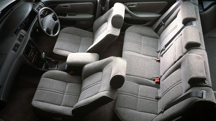 Фото салона Toyota Mark II Wagon Qualis