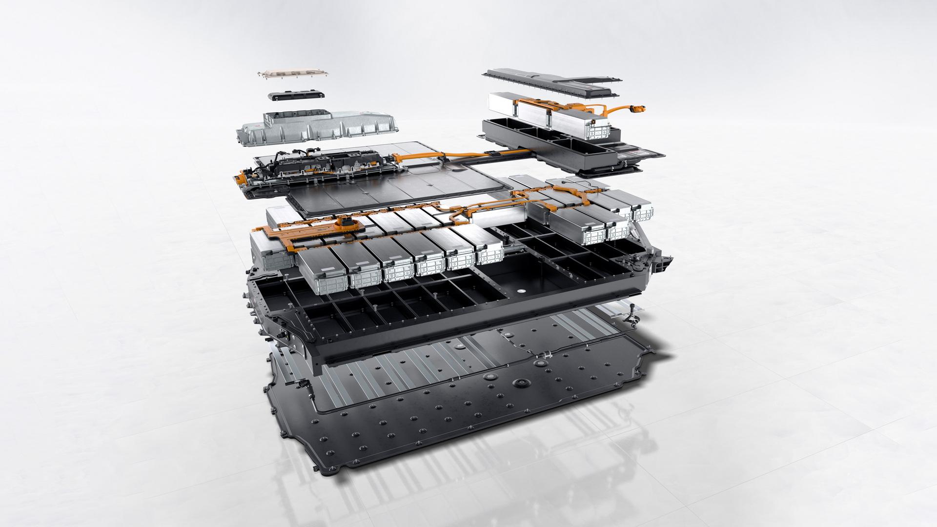 Высоковольтная батарея Porsche Taycan