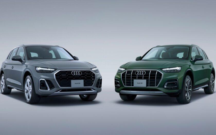 Audi Q5 второго поколения рестайлинг