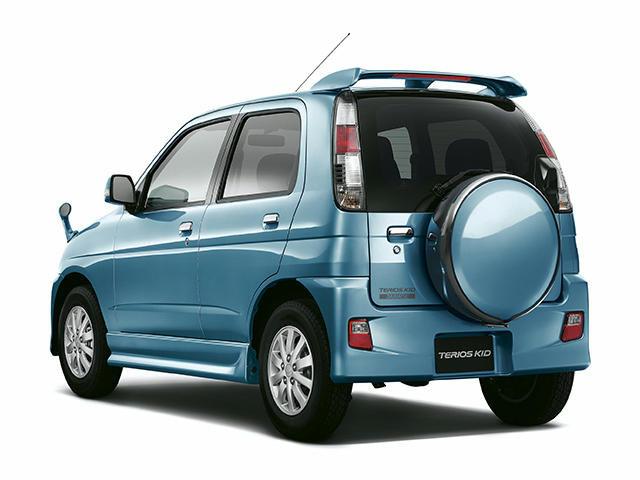 Daihatsu Terios - второй рестайлинг