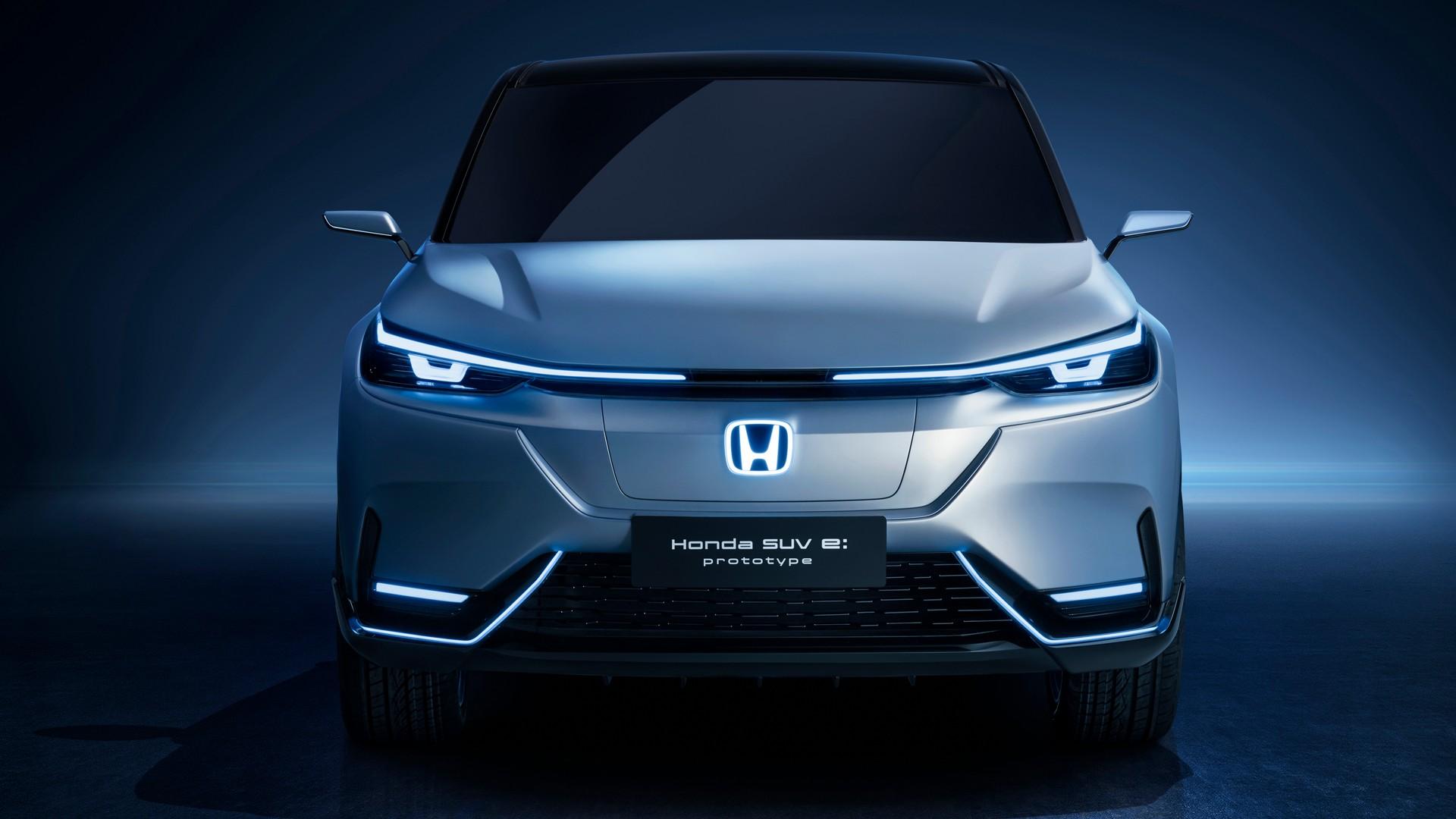 Honda E: prototype