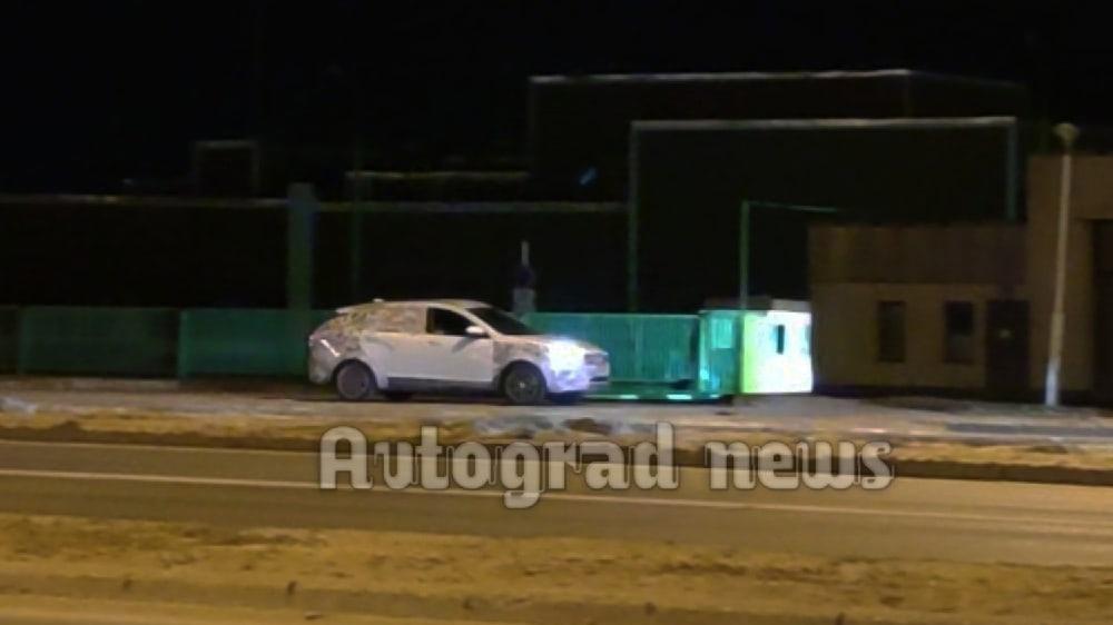 Рестайлинговая Lada Vesta со светодиодной оптикой